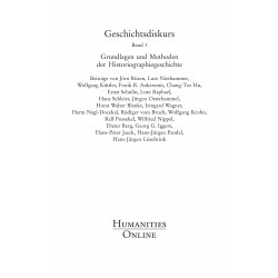 Geschichtsdiskurs, Band 1