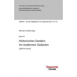 Historisches Denken im modernen Südasien (1786 bis heute)