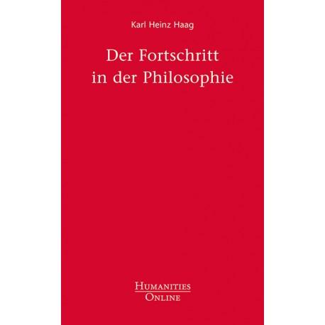 Der Fortschritt in der Philosophie (2. Aufl.)