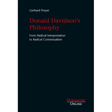 Donald Davidson's Philosophy