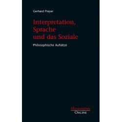 Interpretation, Sprache und das Soziale